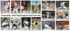 2015 Topps Stadium Club Baseball Set ** Pick Your Team **