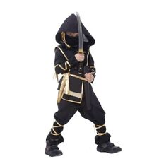 Ninja Costumes Party Boys Girls Warrior Stealth Children Cosplay Assassin Costum