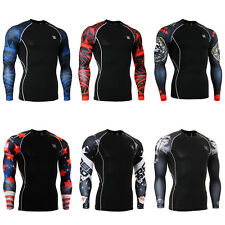 FIXGEAR CPD Compression shirt base layer skin tight under training  fitness
