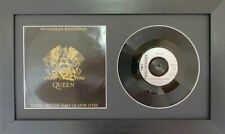 """Picture Photo Frame for Single 7"""" Vinyl LP Record with Album Cover   Black Mount"""