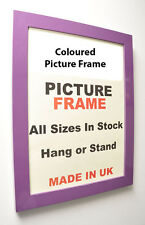 Purple Photos Frames 30 mm | Wall Hanging Frame Pictures Photo MultiSizes Frame