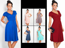 Women's Pleated Short Sleeveless Party Dress Evening Cocktail Casual Dress w26