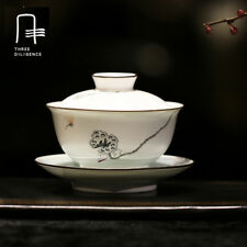 170ml tea set Ceramic Cup Bowl Jingdezhen covered tea cups Chinese porcelain cup