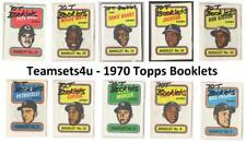 1970 Topps Story Booklets (Baseball) ** Pick Your Team **
