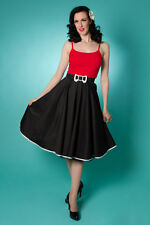 NEW Rockabilly 50s Swing Skirt 1950s Vintage Full Circle MISS FORTUNE Skirt-XS-L