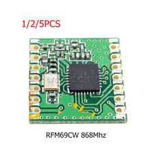 1/2/5PCS RFM69CW 868Mhz HopeRF Wireless Transceiver +RFM12B compatible Footprint