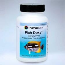 Fish Doxy 100mg 30ct 100ct new tablets Effective Strong,aquarium water capsules