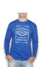 63rd Birthday Gift Present Vintage 1954 Aged To Perfection Long Sleeve T-Shirt