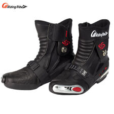 Waterproof Motorcycle Boots Riding Comfort Ankle Protective High Shoes Motorbike
