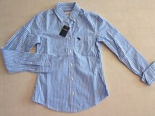Abercrombie Girls Casual Long Sleeve Shirt Multi-color Sz S/M - NWT