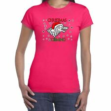 Womens Funny Slogans T Shirts-Christmas (Winter) is Coming -top gift for her