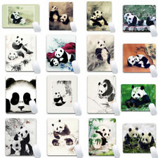 Cute Panda Patterns Anti-slip Gaming Mouse Pad Waterproof Mat Mousepad