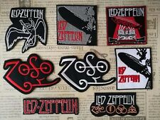 Led Zeppelin Rock Iron On Embroidered Patch Applique DIY Denim Jacket Vest Cap