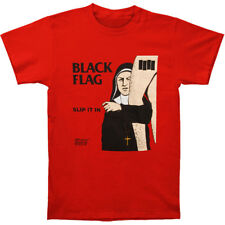 """BLACK FLAG """"Slip it In"""" RED Shirt Punk Harcore Sizes Small through Extra Large"""