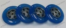 4 Four 100mm Replacement Wheels with ABEC-9 Bearings for Razor Pro Kick Scooter!