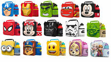 Childrens 3D Character Thermal Insulated Lunch Bag With Sport Bottle
