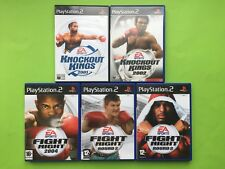 Knockout Kings & Fight Night Playstation 2 PS2 PAL Games Selection List