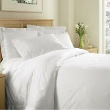 1000 TC 100 Percent Egyptian Cotton White Solid All US Sizes Bedding Collection