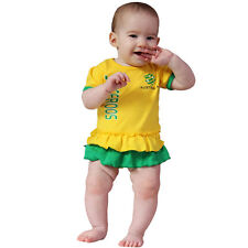 FFA Socceroos Infant Girls Footysuit Sizes 000 - 1
