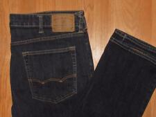 "MENS AMERICAN EAGLE ACTIVE FLEX JEANS / SIZE 38"" x 30"" / ORIGINAL STRAIGHT"