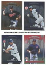 1997 Donruss Limited Counterparts (Base) Baseball Set ** Pick Your Team **