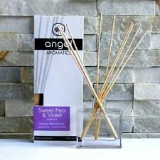 REED DIFFUSER GIFTSET~DECADENT QUALITY FRAGRANCE/ESSENTIAL OILS~GLASS VASE/12MTH