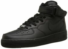 Nike 315123-001 : Mens Air Force 1 Mid 07 Basketball Shoes Black/Black