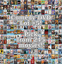 Comedy DVD Lot #5: 245 Movies to Pick From! Buy Multiple And Save!