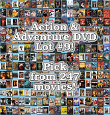 Action & Adventure DVD Lot #9: 247 Movies to Pick From! Buy Multiple And Save!