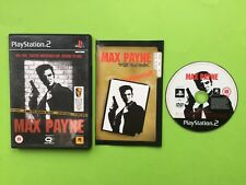 Max Payne Playstation 2 PS2 PAL Game + Free UK Delivery