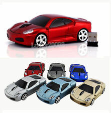 Portable US 2.4Ghz Wireless USB car mouse Cordless Optical Laptop PC Mice Gift