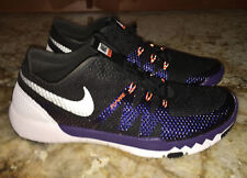 NIKE Free Trainer 3.0 Black Purple Training Running Shoes Sneakers NEW Mens 9.5