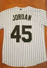Majestic Michael Jordan Chicago White Sox Pinstripe MLB Jersey (medium/large)