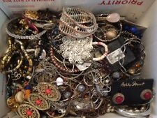 JUNK DRAWER JEWELRY LOT - WEAR, REPAIR AND SCRAP - 10 POUNDS 15 OUNCES - 1974