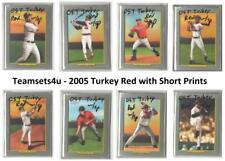 2005 Topps Turkey Red w/SP Baseball Set ** Pick Your Team **