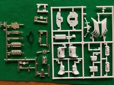 Polar Lights 1/25 Big John '68 Barracuda Funny Car parts engine & headers 30 pcs