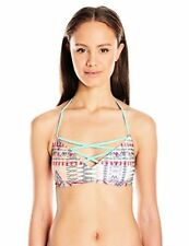 Roxy Women's Sunset Bay Strappy Halter Tri Bikini Top - Choose SZ/Color