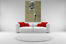 Banksy Graffiti Canvas Cheating Wife Giclee Print Unframed Home Decor Wall Art