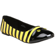 Funtasma Halloween Costume Shoes Women's Cute Bumble Bee Ballet Flat