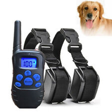 3 in 1 Pet Train LCD Electric Remote Dog Training Shock Collar + Remote Control