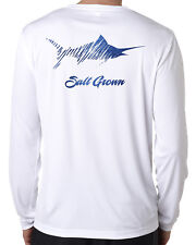 Salt Grown Life Microfiber Marlin Uv 50+ fishing long sleeve shirt offshore