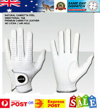 Premium Tour Full Cabretta Leather Golf Glove -Aussie Stock-Fast Dispatch