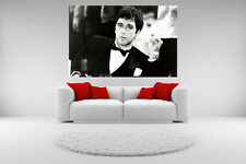 Scarface Al Pacino Canvas Smoking Giclee Print Unframed Home Decor Wall Art