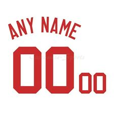 Baseball Cincinnati Reds 1990 White Jersey Customized Number Kit un-stitched