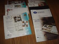Creative Memories 12x12 Refill Scrapbook Pages & Page Protectors, Lot - You Pick