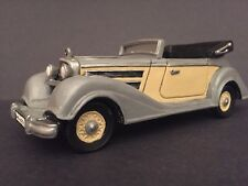 """KING & COUNTRY LAH019 WWII """"MERCEDES STAFF CAR W/ LUFTWAFFE LEADER & DRIVER"""""""