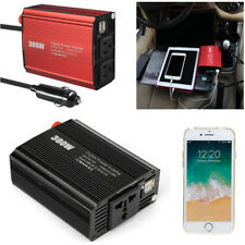 300W Power Inverter DC 12V to AC 220V Charger Converter Adapter Dual USB For Car