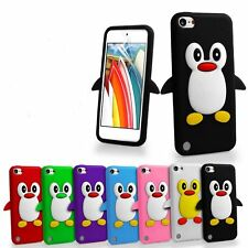 3D Cute Cartoon Penguin Silicone Gel Case Skin For iPod Touch 5 5th Generation