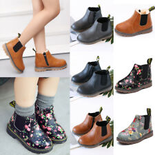 Winter Warm Kids Flowers Fur Martin Shoes Snow Shoes Boys Girls Ankle Boots