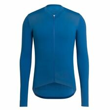 Rapha Pro Team Long Sleeve Aero Cycling Jersey Blue Size Large BNWT